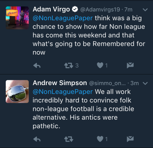 non-league-opnions